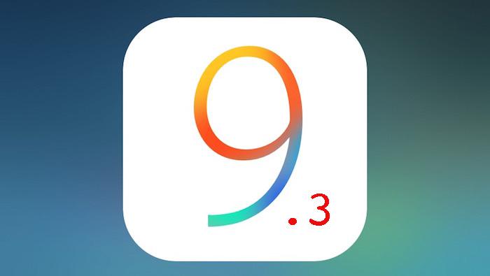 ios 9.3 Logo