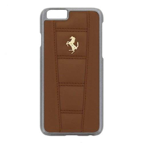 Brown iPhone Cover Farrari