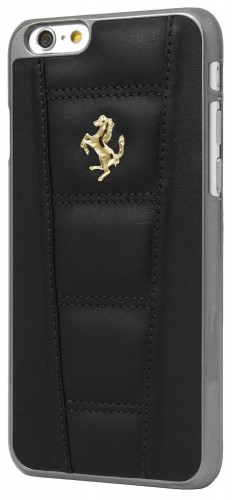 Black iPhone Cover Farrari