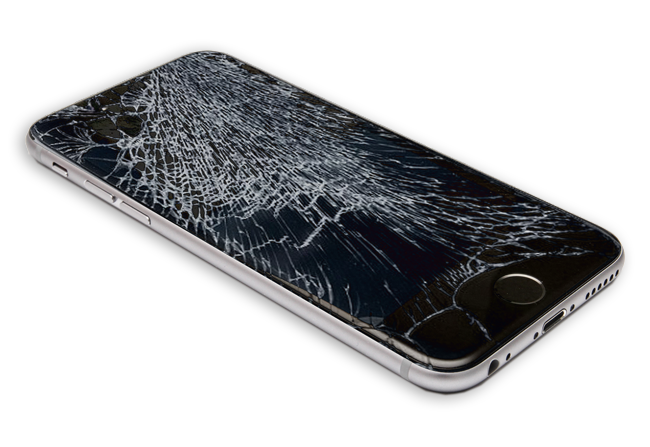 iphone6 cracked