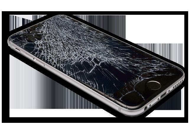 iphone6 cracked